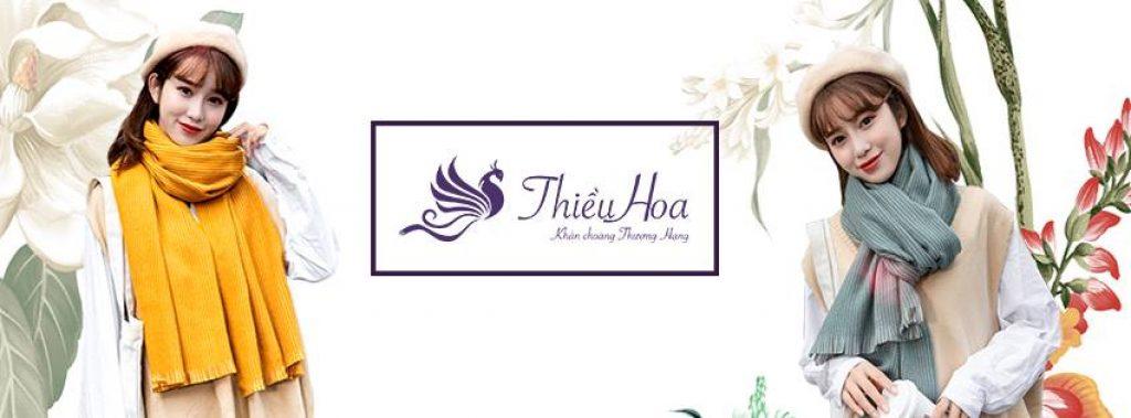 Giới thiệu về khăn choàng Thiều Hoa