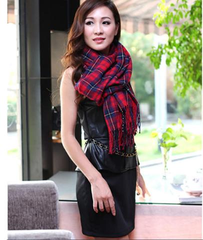 khăn choàng len acrylic LE104