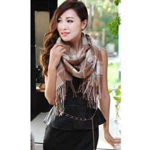 khăn choàng len acrylic LE108