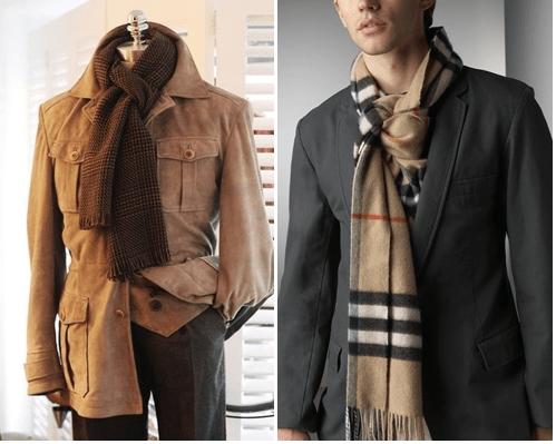 Cách thắt khăn phức tạp