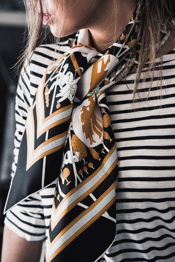 Top 3 khăn choàng cổ lụa tơ tằm năm 2019