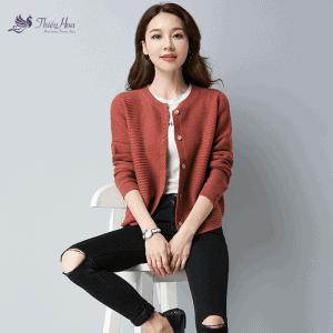 Mẫu áo len nữ tính