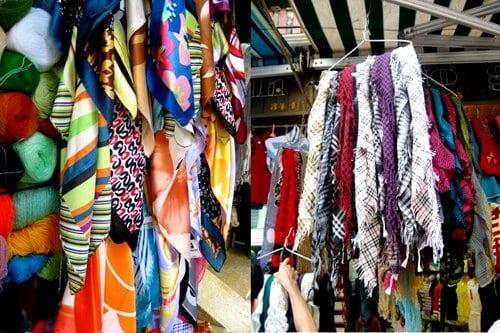 4 phố khăn quàng nổi tiếng Hà Nội