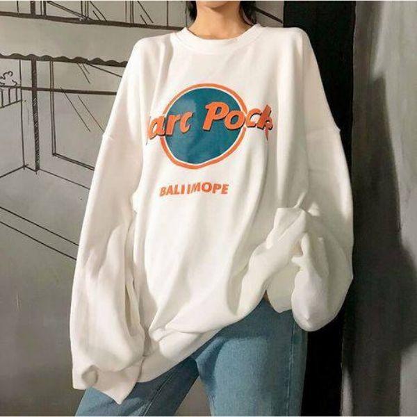 Mix đồ nữ đẹp quần jean và áo hoodie freesize