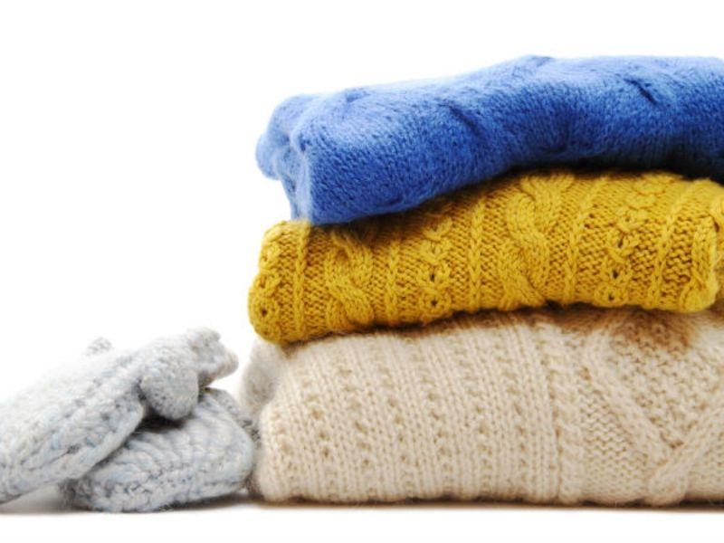 Cách giặt áo khoác len