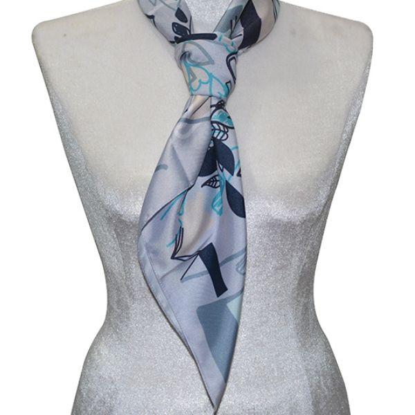 Thắt khăn kiểu cà vạt