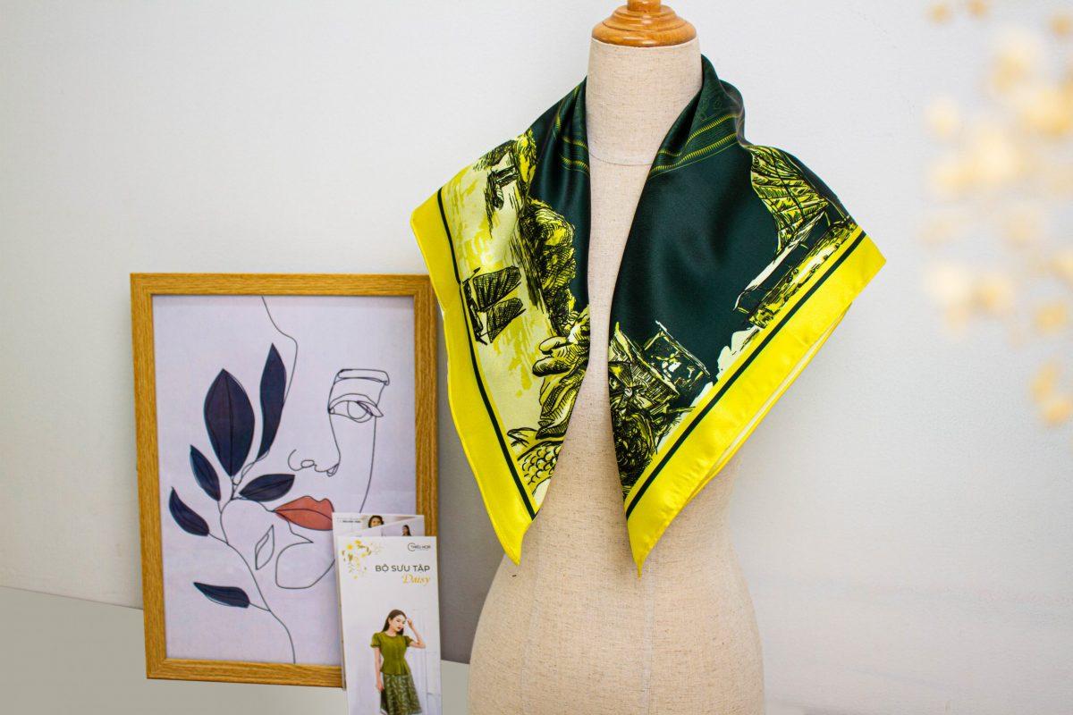 Bật mí 10+ cách phối khăn choàng cổ với trang phục hot nhất hiện nay