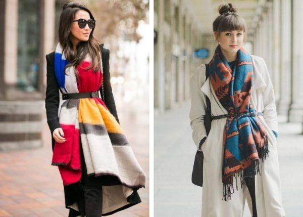 Cách quàng khăn dàiđiệu nghệcùng với thắt lưng