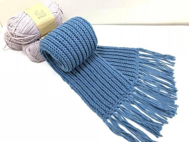 Kiểu đan nút vuông là một trong các kiểu đan khăn len đơn bản và dễ thực hiện nhất cho người mới bắt đầu