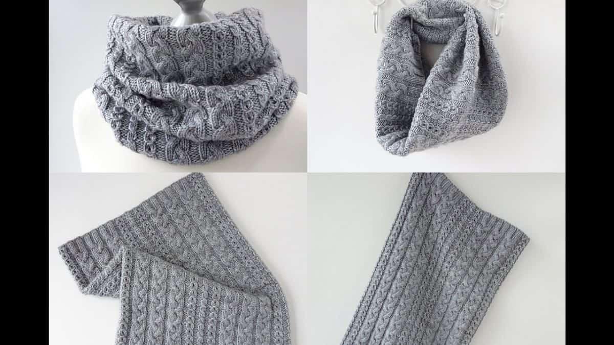 Cách đan khăn ống đẹp theo 6 bước siêu đơn giản
